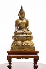 Buddha Isolated on white background.