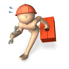Busy engineer