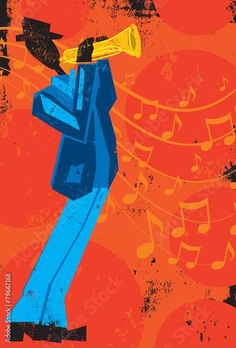 Obraz Trumpet Player