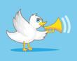 Bird With Horn
