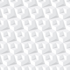 abstract grey cube pattern