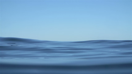 Slow Motion Ocean Water Texture Background