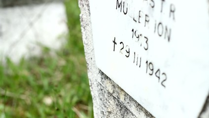 WW II Soldier Grave