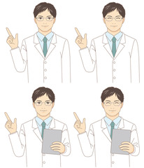 指導する医者