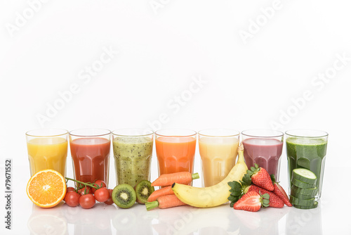 Healthy smoothie poster