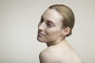 Woman of beautiful skin
