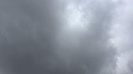 Bedeckte Himmel Zeitraffer