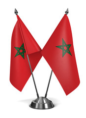 Morocco - Miniature Flags.