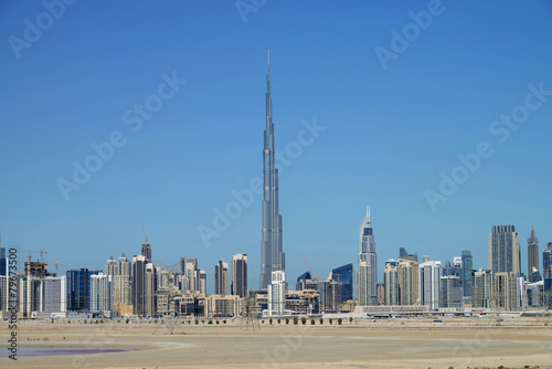 Poster Skyline of Dubai
