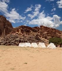 Mountains of Wadi Rum Desert,  Jordan