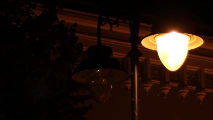 Flickering Street Lamp