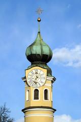 Austria,Lienz,Cappella di S.Antonio,il campanile.