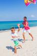 Kids with kite.