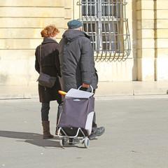 Couple en ville