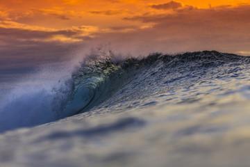 Colored Ocean Wave