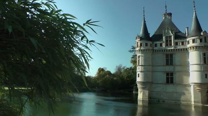Azay-le-Rideau castle, XVIth century, Loire Valley, France