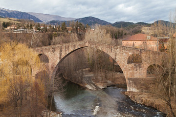 Pont Vell in St Joan de les Abadesses