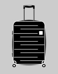 Luggage vector icon
