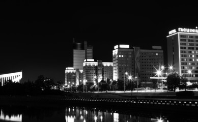 Night Minsk