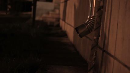 Nighttime Roof Through