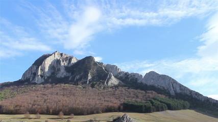 Notch Craggy Mountain Timelapse