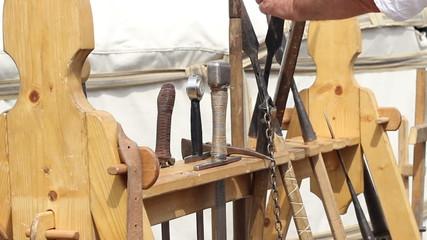 Picking Medieval Weapon
