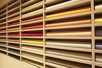 pelli colorate campioni