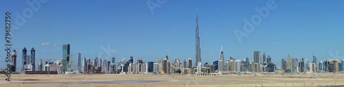 Canvas Dubai Skyline of Dubai