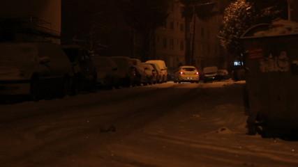 Snowed Neighborhood