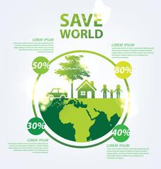 Ecology infographics