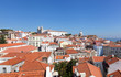 View of old part of Lisbon, Portugal