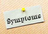 Symptoms Message poster
