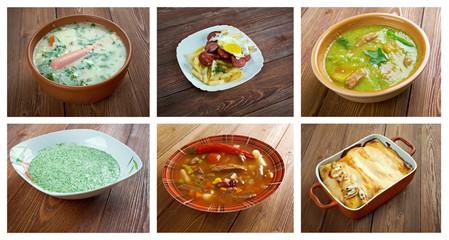 . southern food.Latin American cuisine