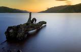 Fototapety Loch Ness scottish sunrise   Highlands Scotland UK