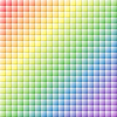 Rainbow tile background
