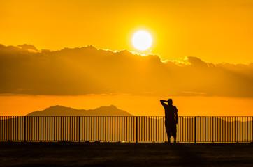 Solitudine al tramonto