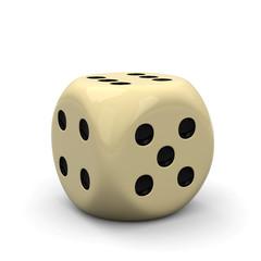Würfel, Spielwürfel, 6er, Gewinner, Glücksspiel, Casino, Dice