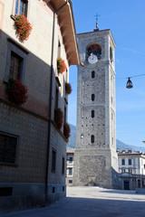 Sondrio - Torre del Ligari - Piazza Campello