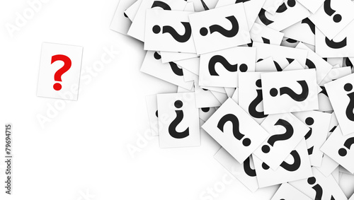 Question Mark Note Paper