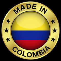 Colombia Made In Badge