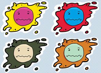 Anxious Face Avatars