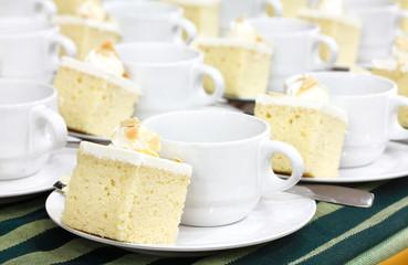 coffee break and cake