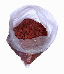 Wolfberry in a bag