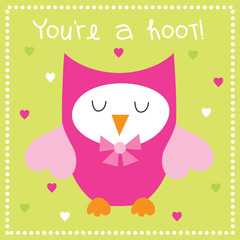 Romantic Owl