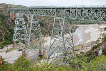 Train bridge over the Gouritz river
