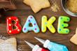 Cookies spelling bake