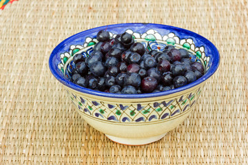 лесная ягода черника