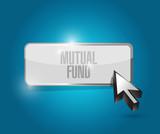 mutual fund button illustration design poster