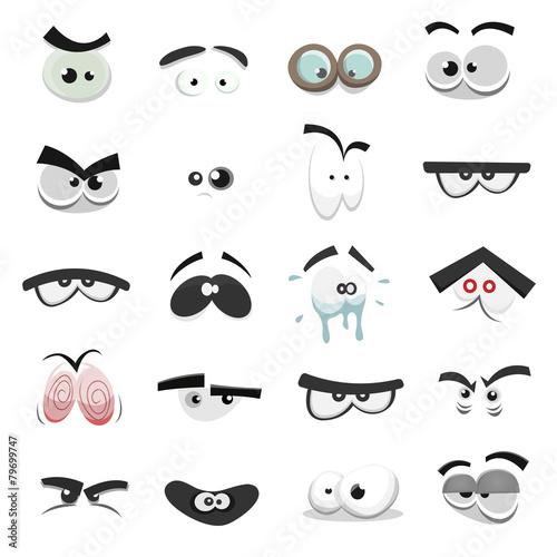 Comic Eyes Set - 79699747