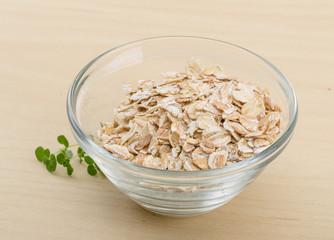Dry oats